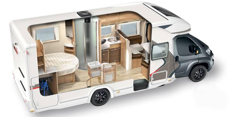 séjour camping car